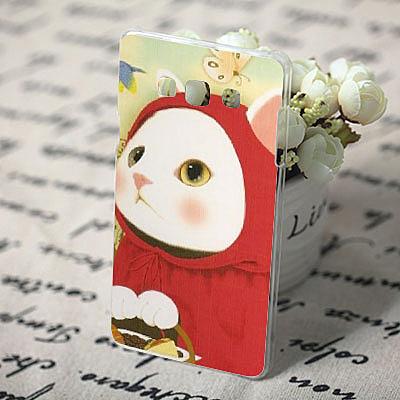 三星 Samsung Galaxy A8 A800 手機殼 軟殼 保護套 韓國 甜蜜貓 紅帽貓