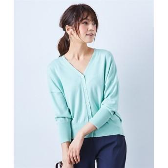 軽いのに暖か♪吸湿発熱深Vネックニットカーディガン (ニット・セーター)(レディース)Knitting, Sweater