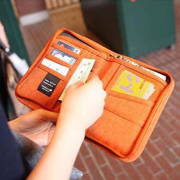 短款護照包韓式旅行收納包多功能