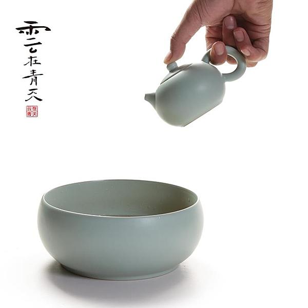 茶壺陶瓷汝窯西施壺汝瓷泡茶壺