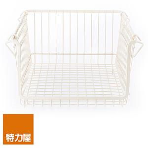 特力屋 長型籃 S尺寸 米色 27x35x17cm