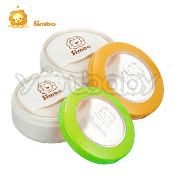 小獅王辛巴 Simba 雙層造型粉撲盒