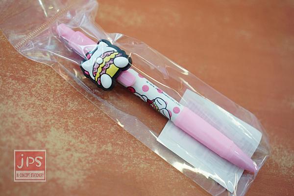 Hello Kitty 屁屁系列 造型自動鉛筆 粉