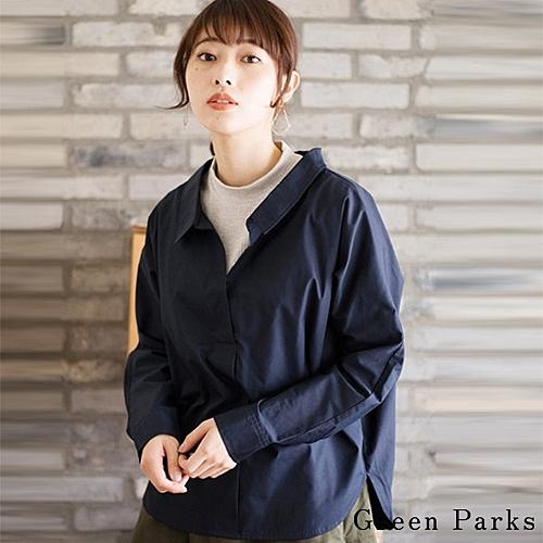■Chocol Raffin■nn針織內裡+襯衫 穿出層次感n一件穿出當季流行趨勢
