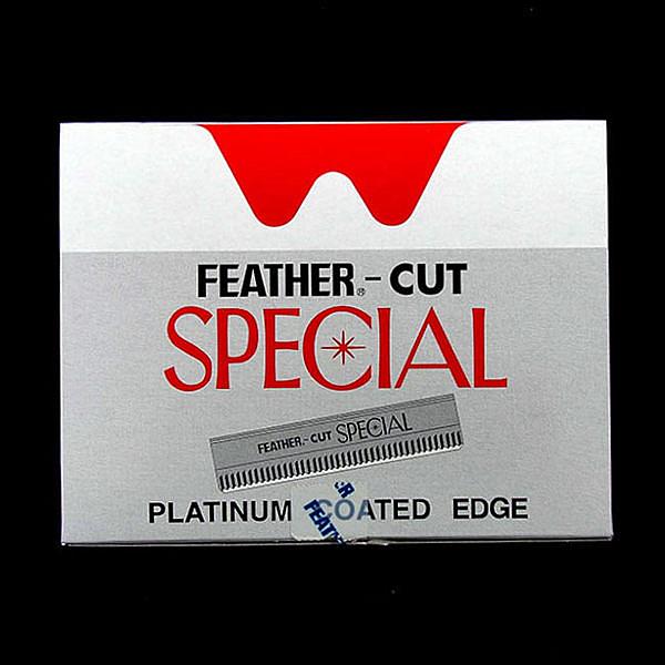 ◇天天美容美髮材料◇ 羽毛FEATHER 波浪刀片 10小盒*10片入 [39068]  日本製造  理髮院專用