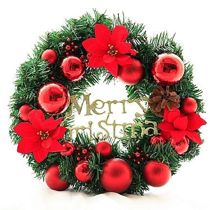 聖誕禮品80  聖誕樹裝飾品 禮品派對 裝飾 聖誕花環