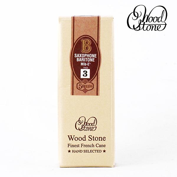 小叮噹的店-(整盒賣場)日本 石森 WoodStone WSB 上低音薩克斯風竹片 Baritone Sax