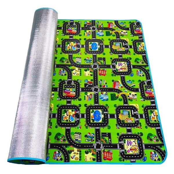 兒童地毯城市車道馬路跑道交通地墊 cf