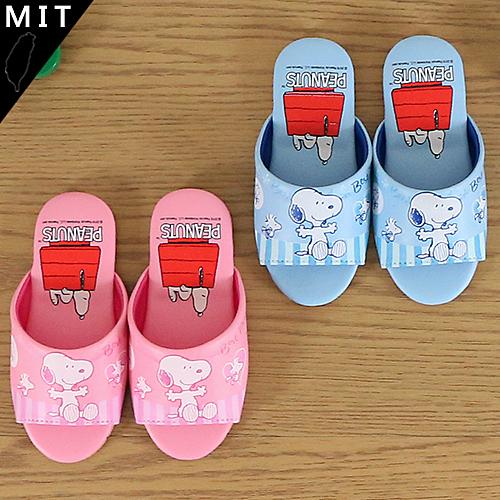 男女童 2019年 SNOOPY 靜音防滑 室內拖鞋 平底拖鞋 正版售權 MIT製造 59鞋廊