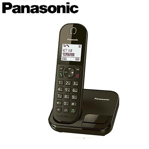 Panasonic 國際牌 KX-TGC280TWB 注音輸入全中文數位無線電話