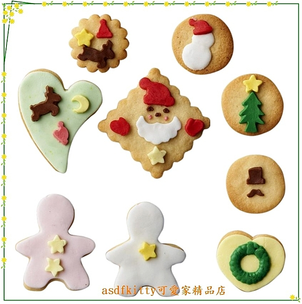 asdfkitty可愛家☆貝印 COOKPAD棉花糖翻糖模型/巧克力模型-聖誕老公公-DL-8033-日本製