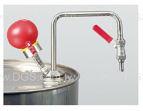《burkle》手動式分 注器 溶劑用 Solvent pump hand operated