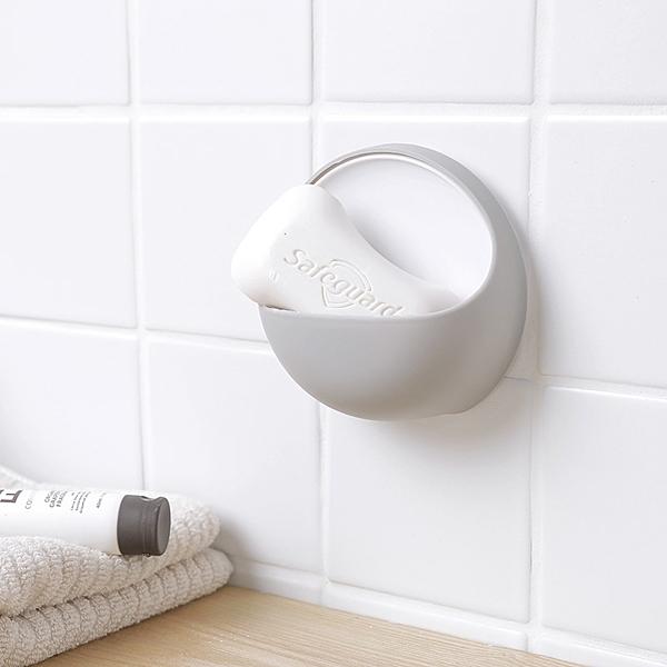 【A-HUNG】簡約吸盤肥皂盒 香皂盒 肥皂架 香皂架 浴室 廚房 水槽 海綿架 菜瓜布架 抹布架