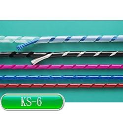 KSS KS-6  捲式結束帶(PE) 白 10M