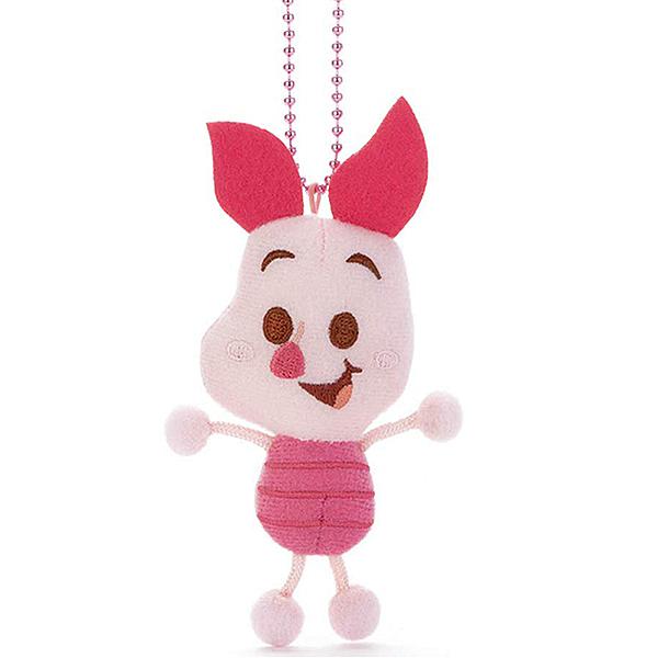 【小豬 娃娃吊飾】迪士尼 小豬 娃娃吊飾 Toy Company 日本正版 該該貝比日本精品 ☆