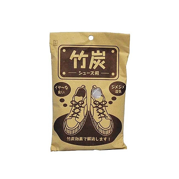 KOKUBO 日本進口竹碳除濕消臭100g-鞋用2入LI-2397