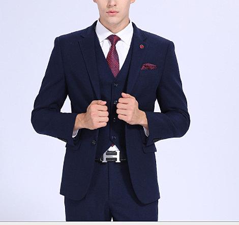 (45 Design)  7天到貨 客製化顏色大尺碼訂做 伴郎禮服 韓式宴會晚禮服  日韓雜誌西裝全套8