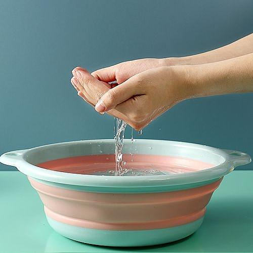【超取399免運】家用小號可折疊洗臉盆 便攜式洗衣盆