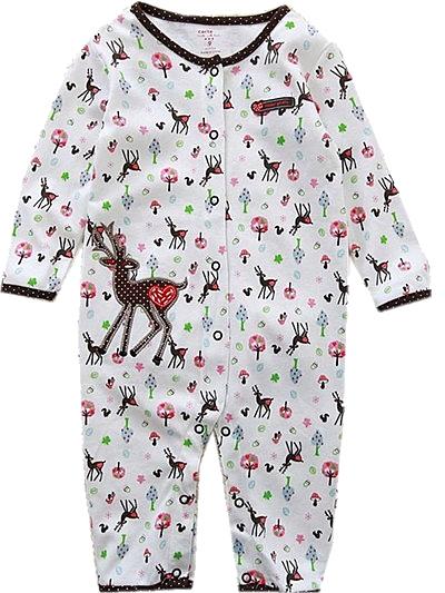 貝比幸福小舖【04111-B】長袖兔裝連身衣大集合250多款-款式A6027