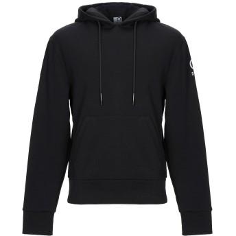 《セール開催中》SUNSTRIPES メンズ スウェットシャツ ブラック S コットン 70% / ポリエステル 30%