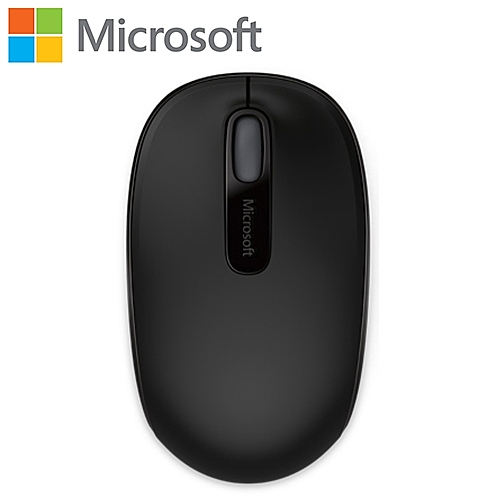 Microsoft 微軟 1850 無線行動滑鼠 消光黑【原價 499 ▼現省$ 100】