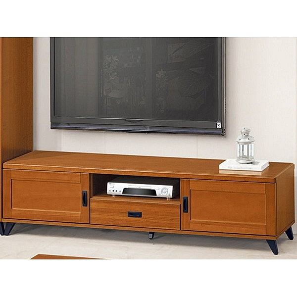 電視櫃 長櫃 BT-113-5 樟木色6尺電視櫃【大眾家居舘】