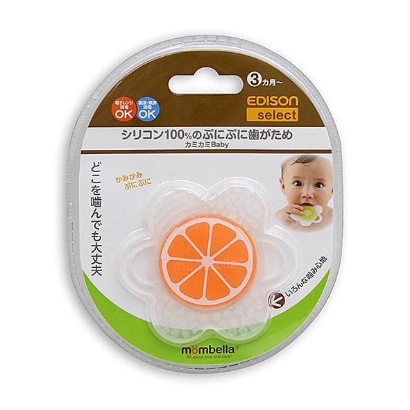 AKACHAN阿卡將 EDISON 柳橙柔軟固齒玩具