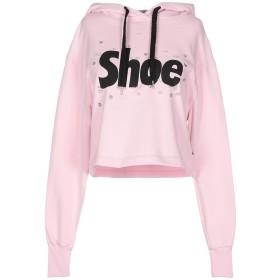 《セール開催中》SHOESHINE レディース スウェットシャツ ピンク S コットン 100%