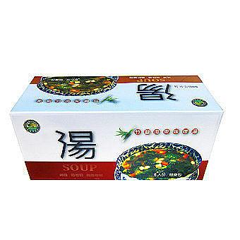 台灣綠源寶 竹鹽海帶味噌湯(8包/盒)   12盒 純素 無味精、無防腐劑