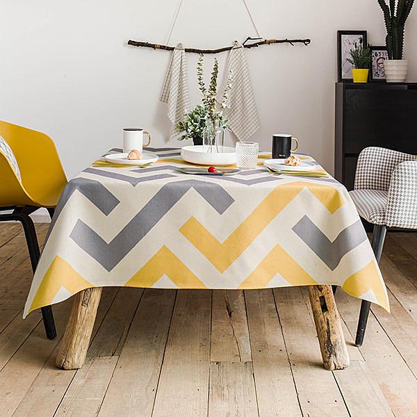 時尚可愛空間餐桌布 茶几布 隔熱墊 鍋墊 杯墊 餐桌巾389  (140*180cm)