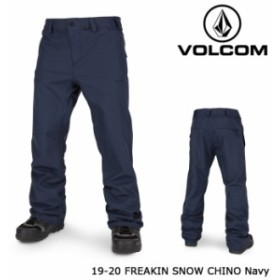 ボルコム ウェア パンツ 19-20 VOLCOM FREAKIN SNOW CHINO Navy G1351912 チノ 日本正規品