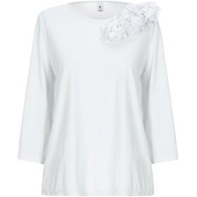 《セール開催中》EUROPEAN CULTURE レディース T シャツ ホワイト XS コットン 100%