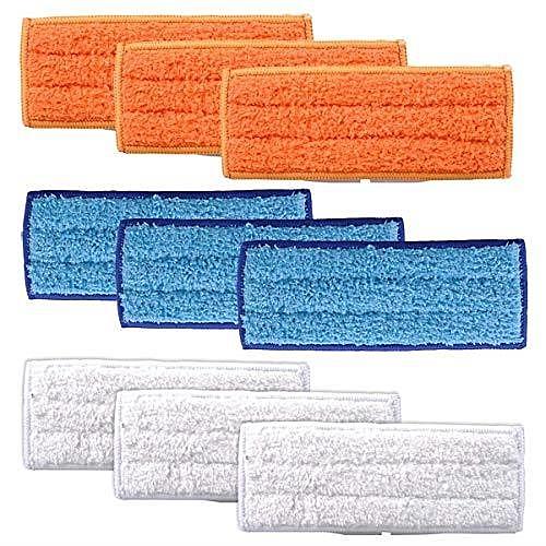 【日本代購-現貨】KEEPOW iRobot Braava 240 241 擦地板機器人用清潔墊 可洗滌 9片裝  (乾X3 濕X3 微濕X3)