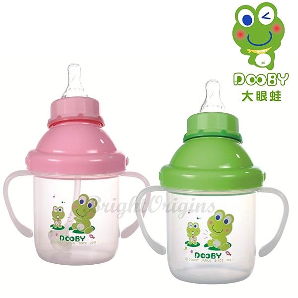 DOOBY大眼蛙 綜合多功能練習杯280cc(新生兒以上適用) D-4161