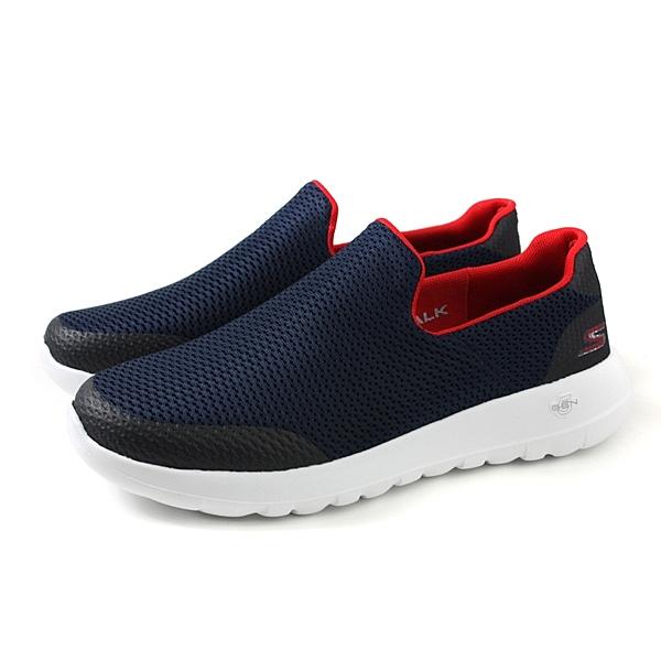 SKECHERS GOWALK MAX 運動鞋 懶人鞋 男鞋 深藍色 54637NVRD no942