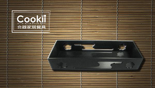 【Cookii Home.合器】專業料理日式造型日本長味盒.黑/紅.35Ci0415【日本長味盒】246x90x48mm