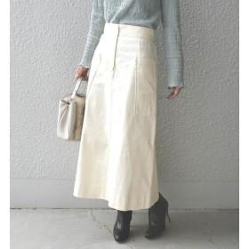【シップス/SHIPS】 Khaju:2wayセミフレアスカート