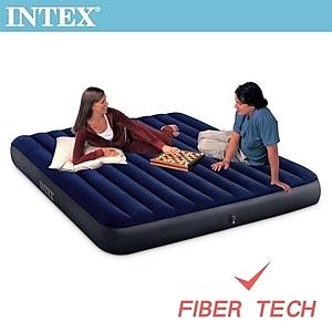 INTEX 經典雙人 新款FIBER TECH 充氣床-寬152cm 64759
