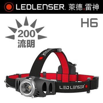 LED LENSER H6 伸縮調焦頭燈