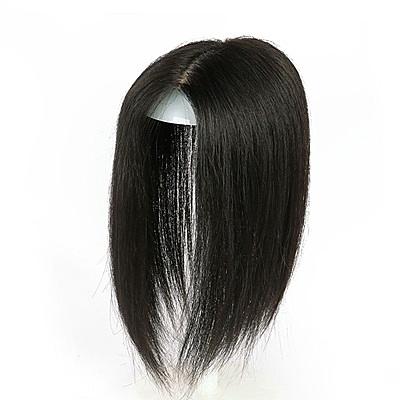 假髮片(真髮絲)-直髮30cm隱形補髮片女假髮73us44【時尚巴黎】