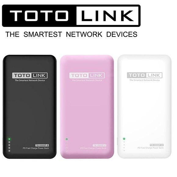 TOTOLINK TB10000P PD雙快充 Type-C雙向行動電源 10000mAh [富廉網]