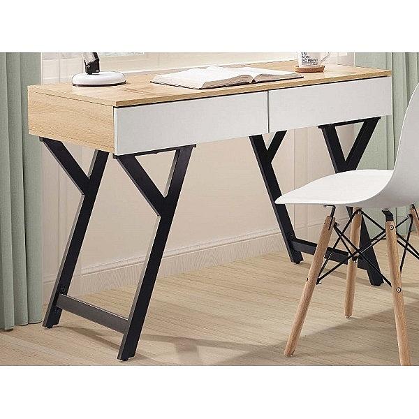 書桌 電腦桌 TV-490-5 萊恩3.3尺黑腳書桌 (不含其它產品)【大眾家居舘】