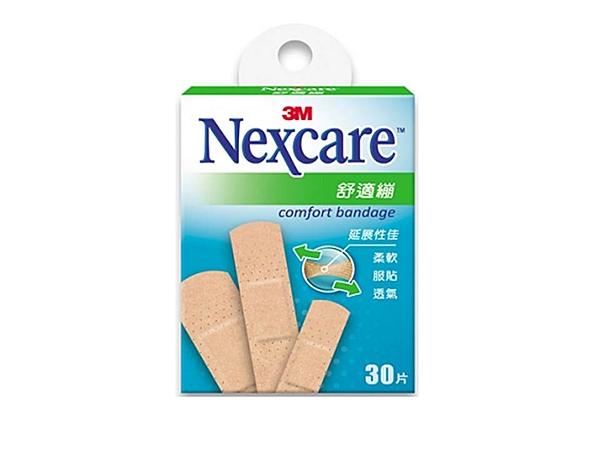 3M Nexcare 舒適繃-綜合型(30片) ok蹦