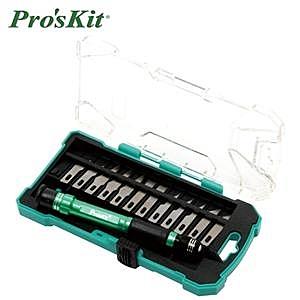 Pro'sKit寶工 PD-398  14pcs鋁合金雕刻刀組套