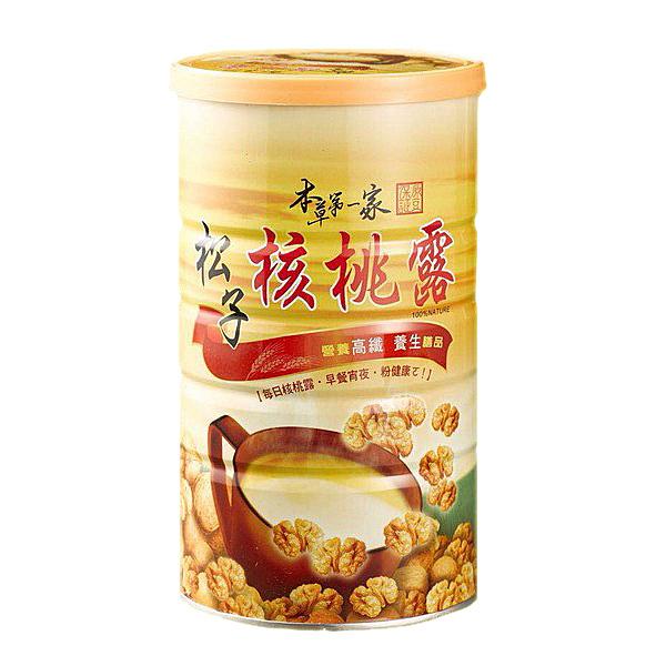 本草第一家 松子核桃露(600g/罐)x1