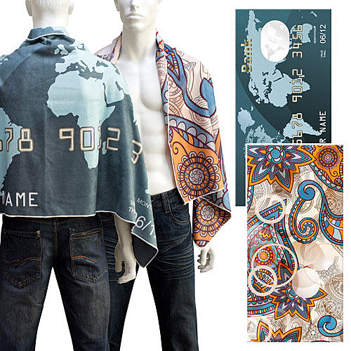 【客製化】A90-100-076 全彩昇華熱轉印手巾 (35 x 75 cm)