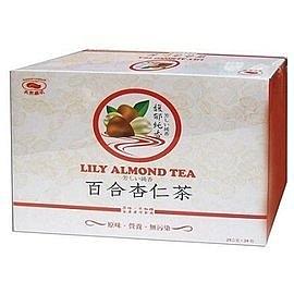 天然磨坊~百合杏仁粉25公克X24包/盒