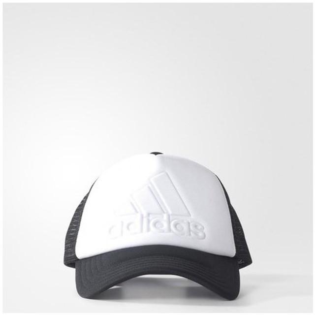 アディダス(adidas) 【多少の傷汚れありの為大奉仕】ロゴトラッカーキャップ BXA78-S97610 (Men's)