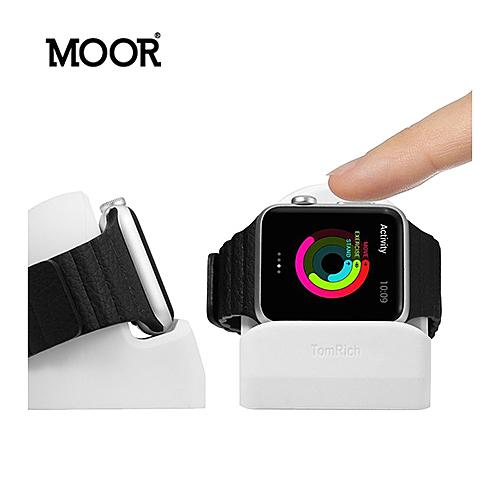 MOOR Apple Watch 專用充電展示座 (白色) T50