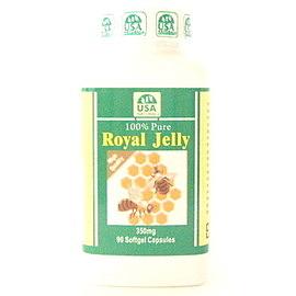 天然成 蜂王漿 膠囊(90粒)12瓶 食品